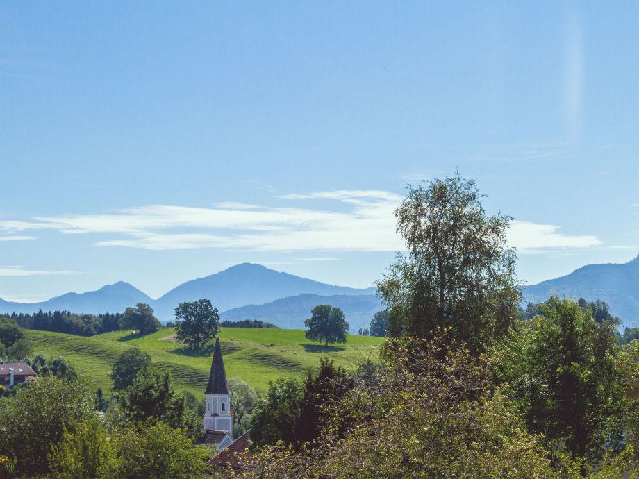 Blick vom Ostbalkon