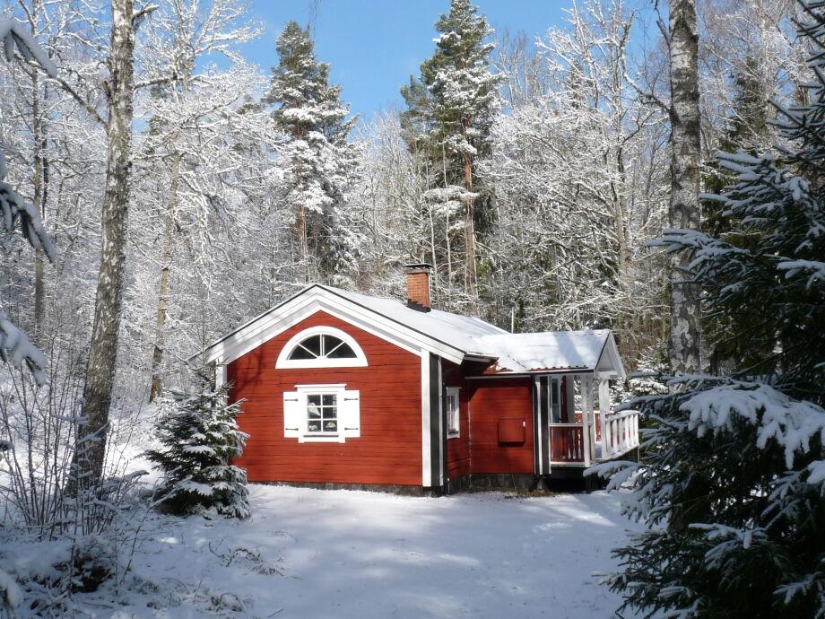 Hier kann schon mal richtig vile Schnee. . .