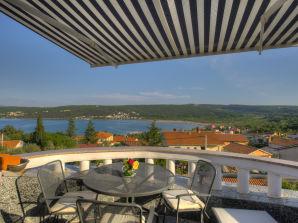 Ferienwohnung mit Meersicht, Insel Krk