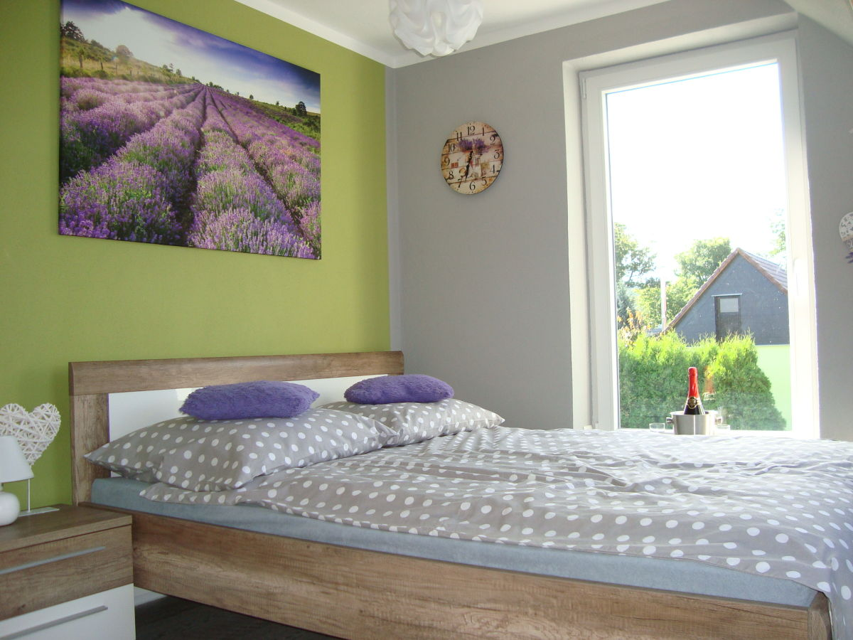 Ferienhaus am eichberg rosenthal bielatal familie magdalena und silvio gast - Lavendel im schlafzimmer ...