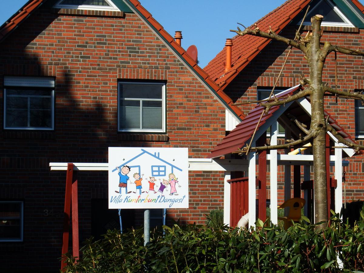Ferienhaus Villa Kunterbunt Dangast, Jadebusen - Sike & Ingo Schoßmeier