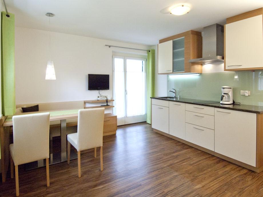 Wohnküche Appartement Ifinger im Obermaratscher