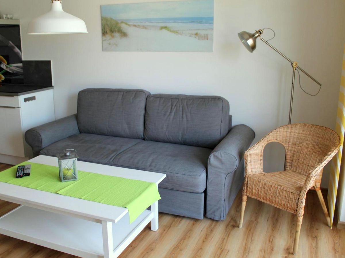Ferienwohnung krabbe ostsee fischland dar zingst for Sofa 8 personen