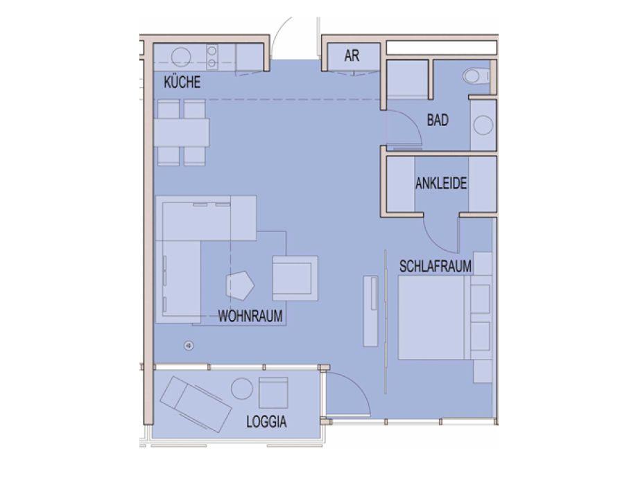 Ferienwohnung Residenz 211, Ostsee - Familie Rainer Nordlohne