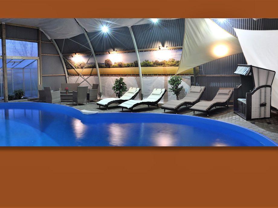 Pool- und Saunabereich