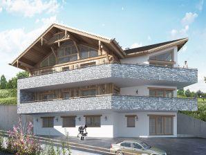 Chalet Penthouse an der Piste 4 Alpendorf