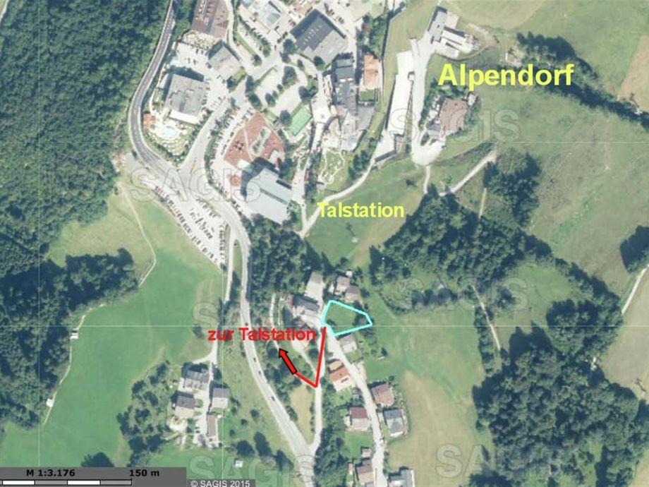 Außenaufnahme Penthouse an der Piste 4 Alpendorf