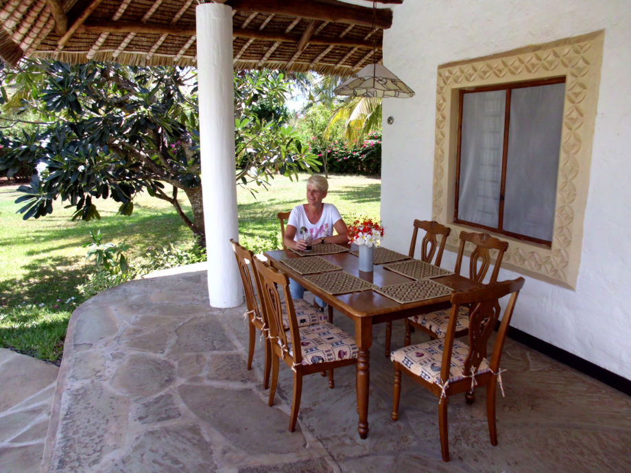 Ferienhaus Villa Karibu, Kenia Südküste Diani Beach, Galu Beach ...