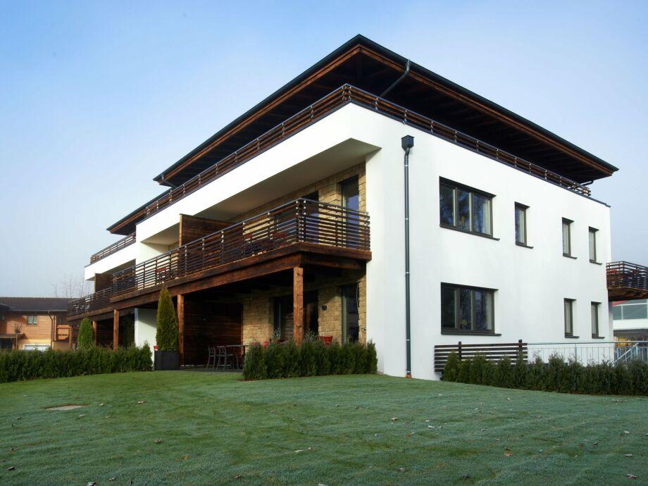 Außenaufnahme Zellermoos Design Penthouse