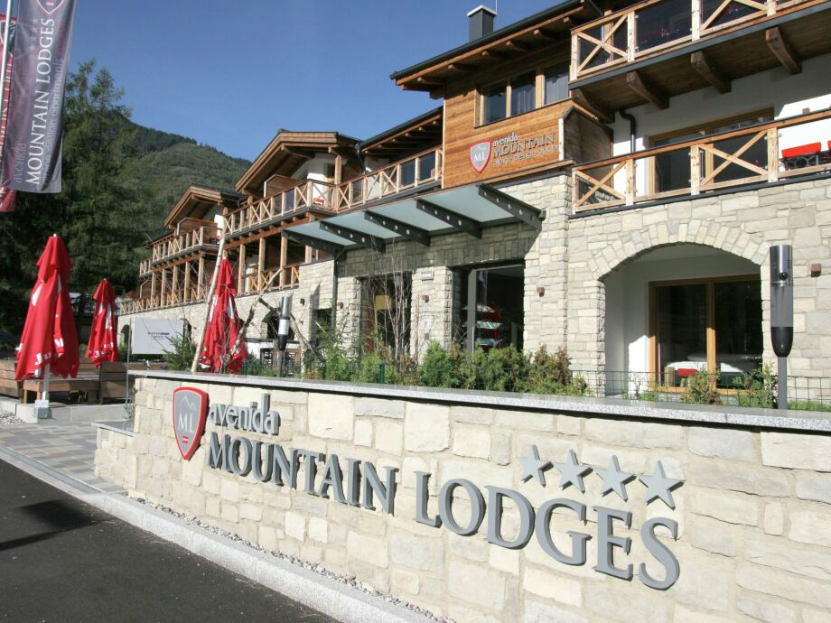 Außenaufnahme Kaprun Lodges 4