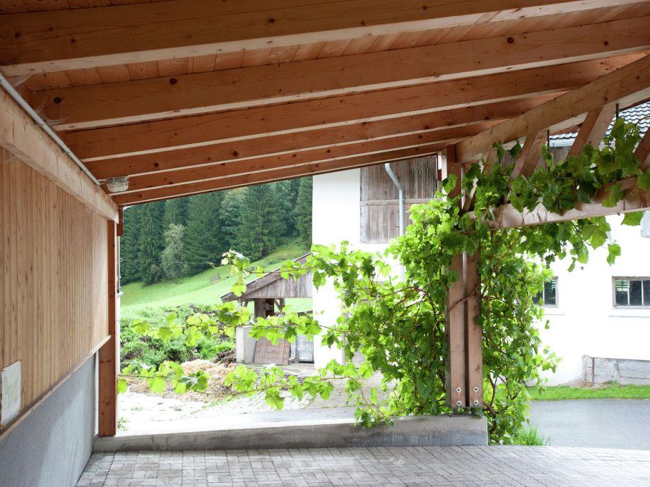 Außenaufnahme Ferienhaus Hollaus
