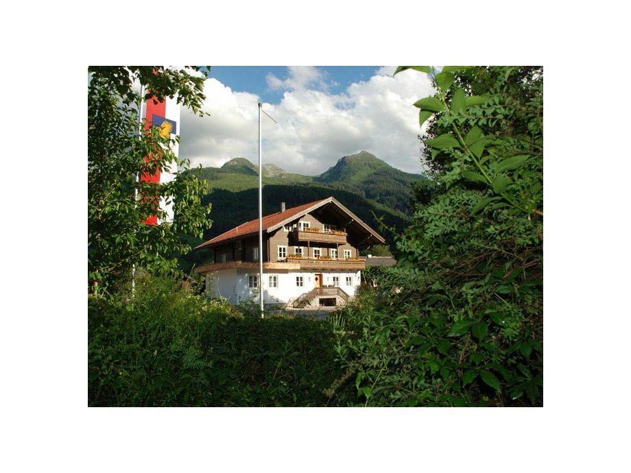 Außenaufnahme Dorfappartement Bramberg