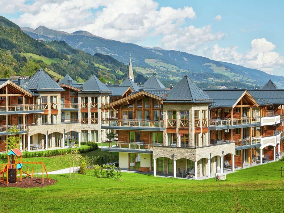 Außenaufnahme Resort Bramberg Penthouse type 1