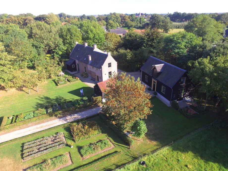 Außenaufnahme Koetshuis 't Geyn-Landgoed Noordenhoek