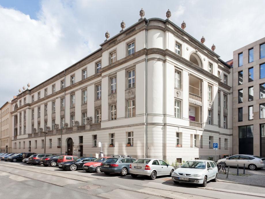 """Außenaufnahme Apartment """"Friedrichstraße"""""""
