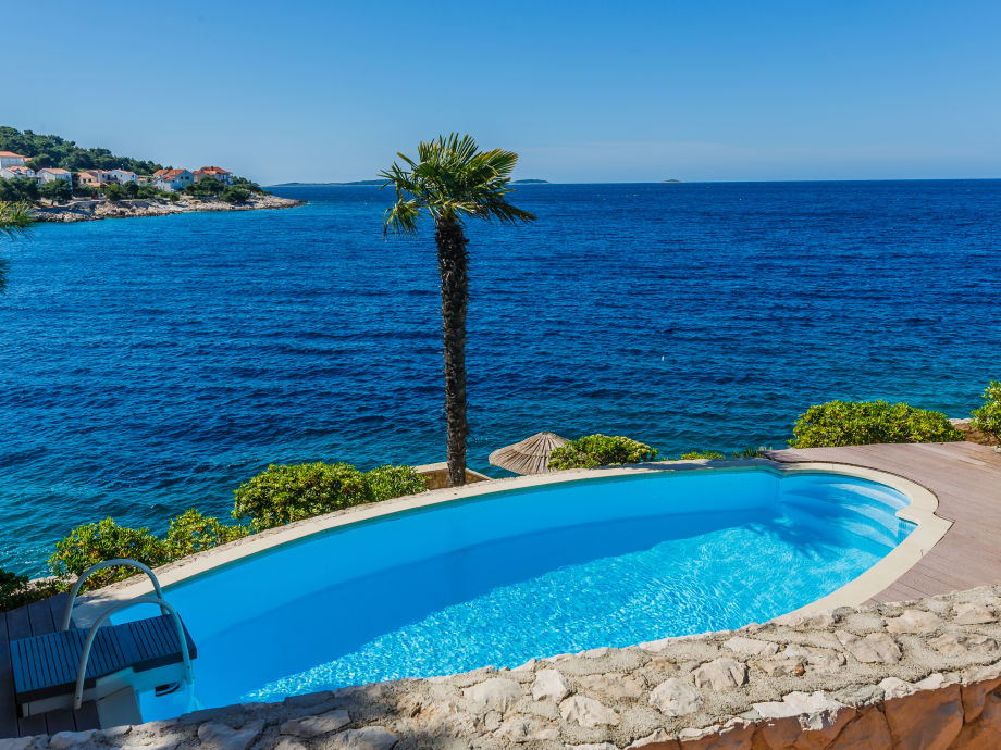 nice pool near the sea