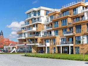 """Ferienwohnung """"Leonie A10"""" in der Hafenresidenz Waren (Müritz)"""