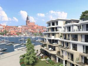 Ferienwohnung - für Familien - mit Müritzblick