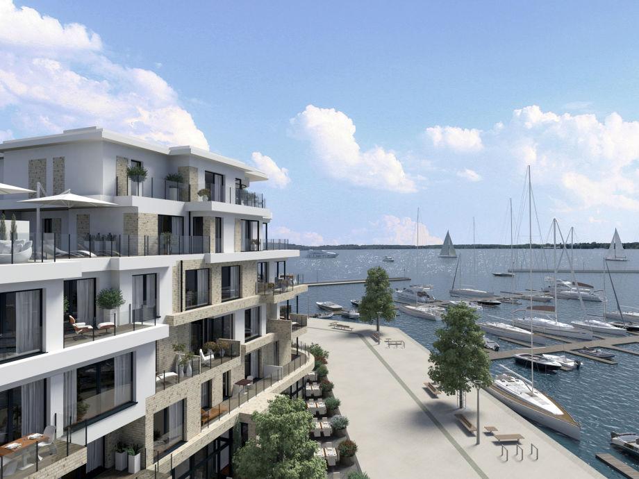 Wohnen im Aparthotels Hafenresidenz Waren (Müritz)