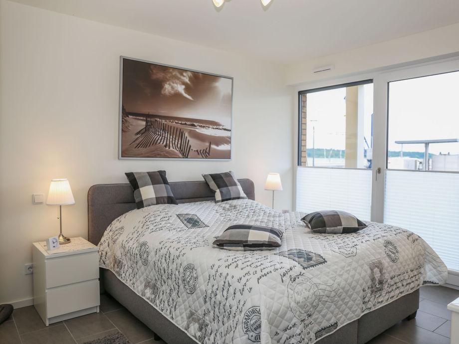 Schlafzimmer mit Müritzblick