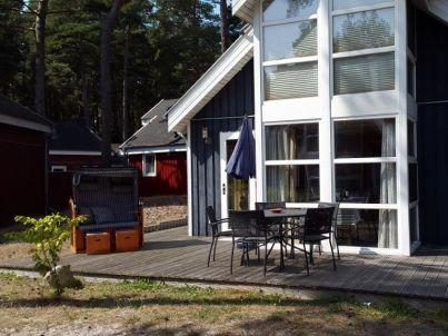 F.01 Ferienhaus Sandkörnchen - Strandpark - ca. 80m Strand