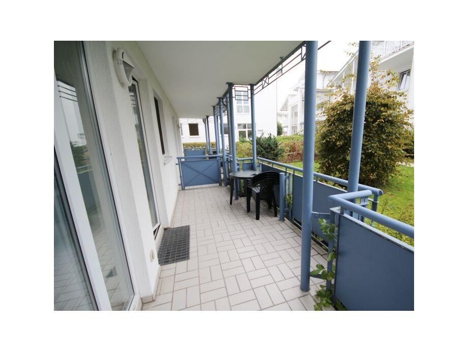Außenaufnahme 21 in der Villa Buskam mit Südbalkon