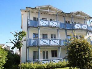 Ferienwohnung 21 in der Villa Buskam mit Südbalkon