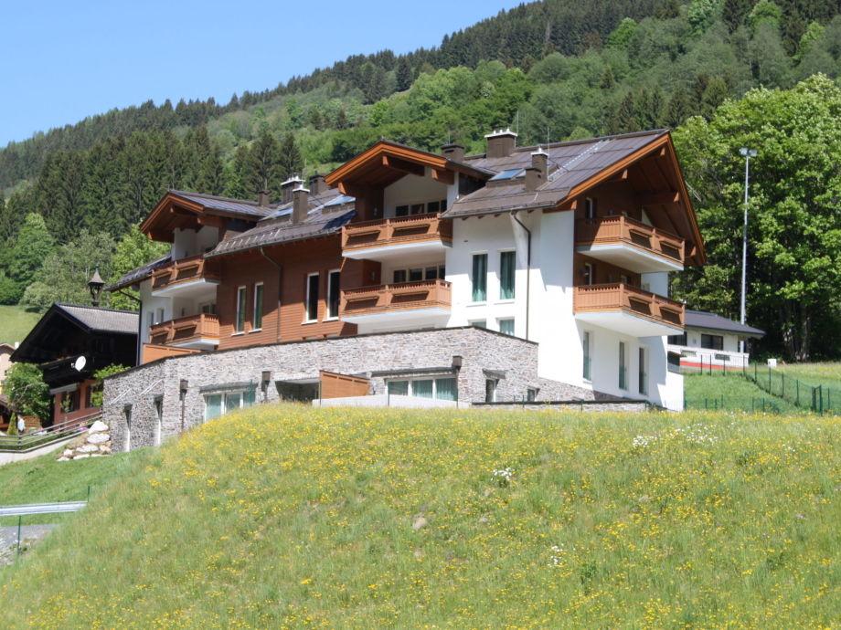 Außenaufnahme Residenz Drei Berge