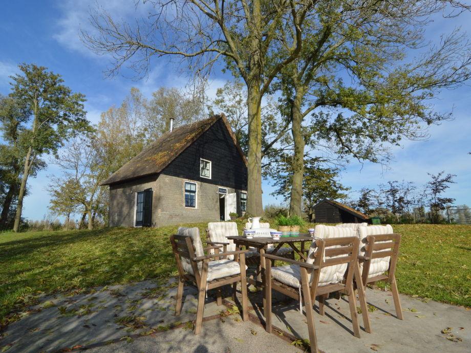 Außenaufnahme Het Biesbosch huisje