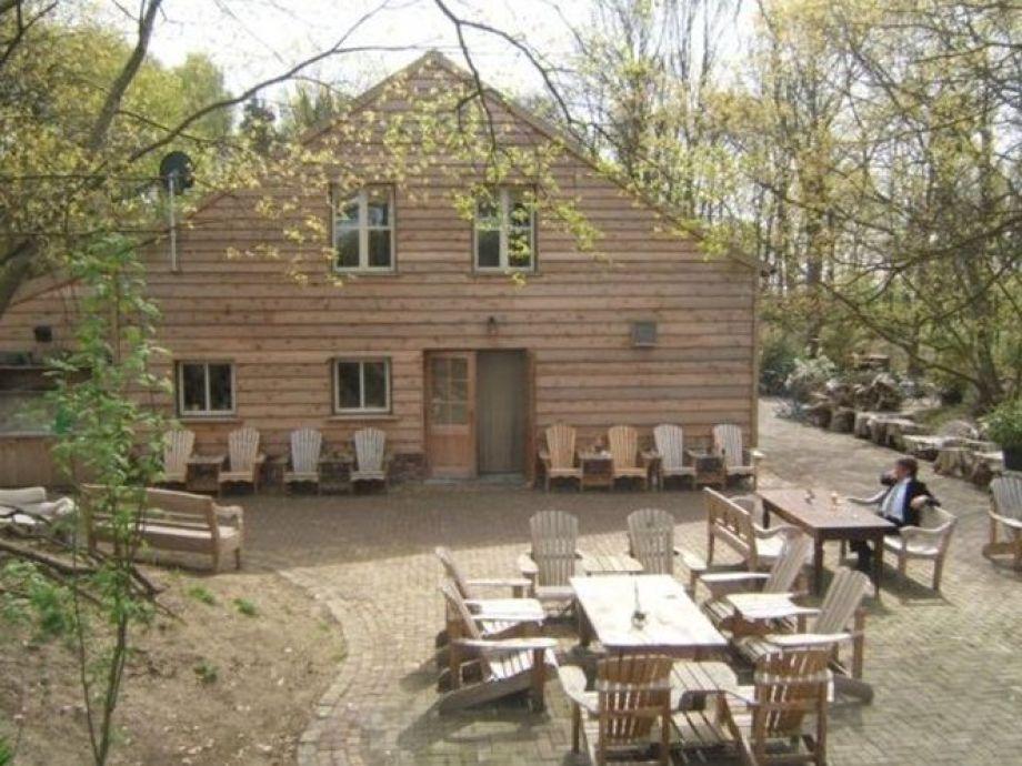 Außenaufnahme Lodge Maasduinen