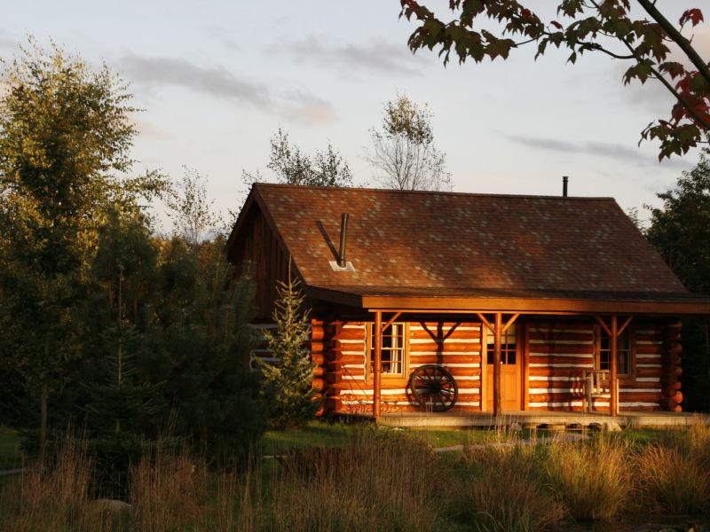 Ferienhaus Amerikaanse Blokhut
