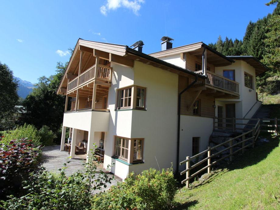 Außenaufnahme Chalet Sanna Hinterlengau