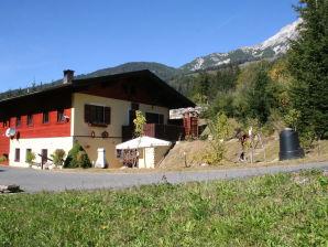 Ferienwohnung Weissbachhäusl