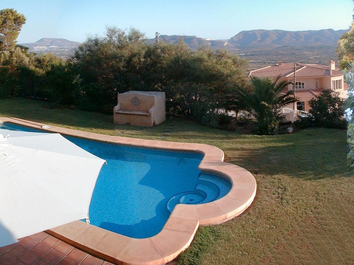 ferienhaus villa mit herrlichem panoramablick costa blanca javea valencia firma sandrock. Black Bedroom Furniture Sets. Home Design Ideas