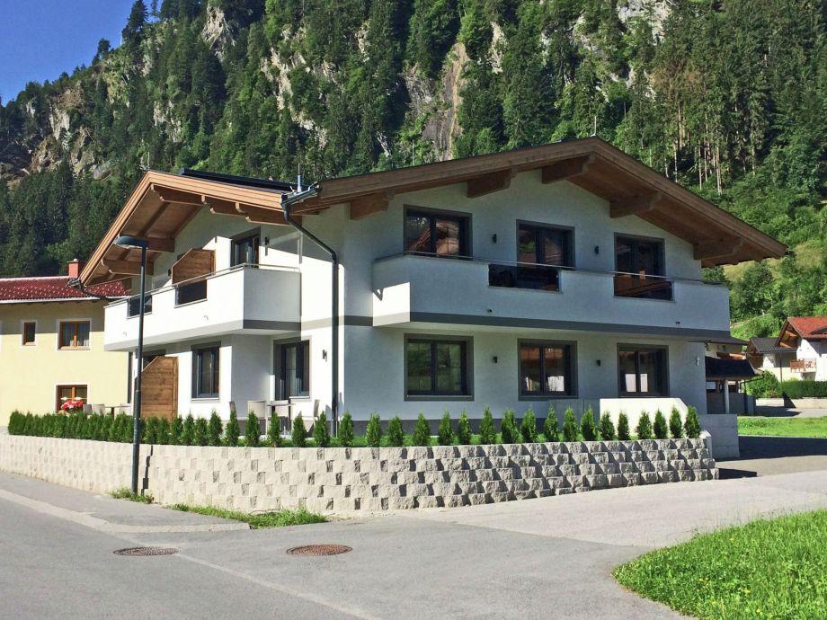 Außenaufnahme Apartments Zillertal
