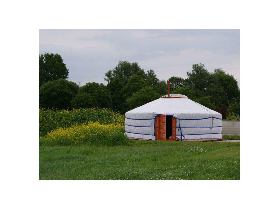 Außenaufnahme Mongoolse Yurt