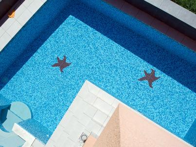 Villa Sunrise mit luxury pool und Meerblick
