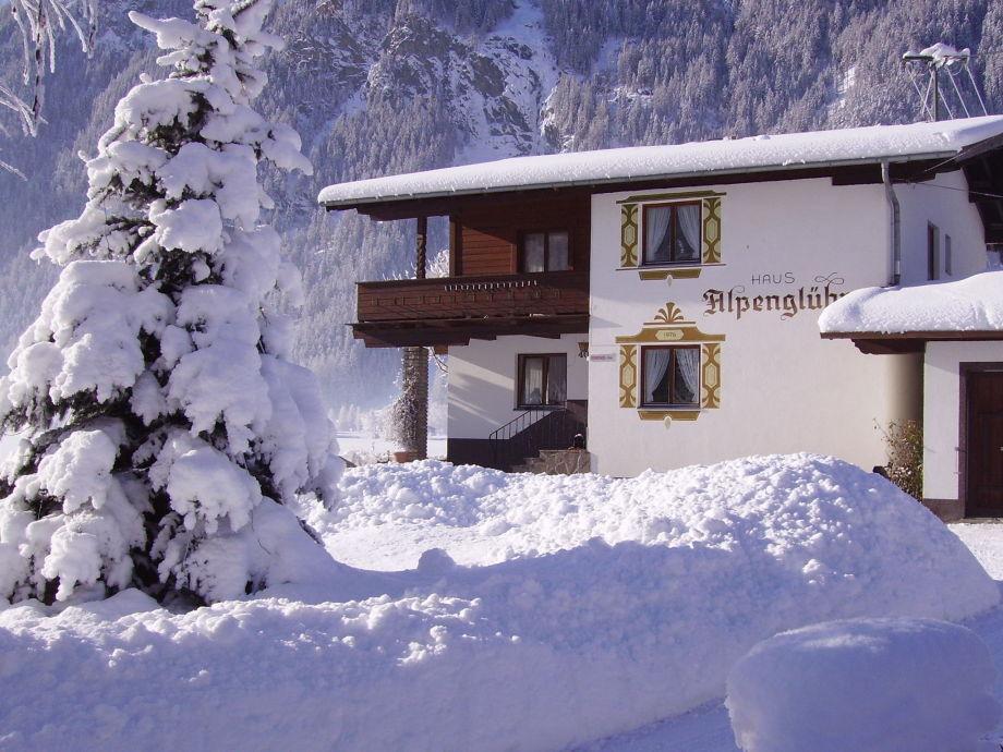 Außenaufnahme Alpenglühn