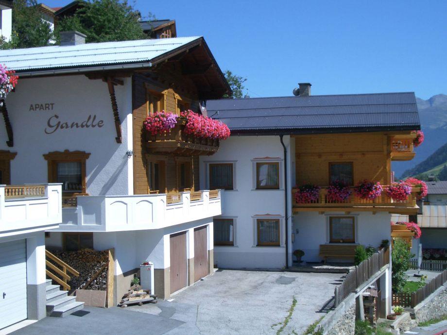 Außenaufnahme Haus Gandle