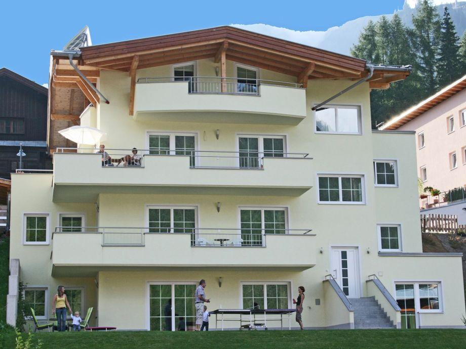 Außenaufnahme Apartements La Vita