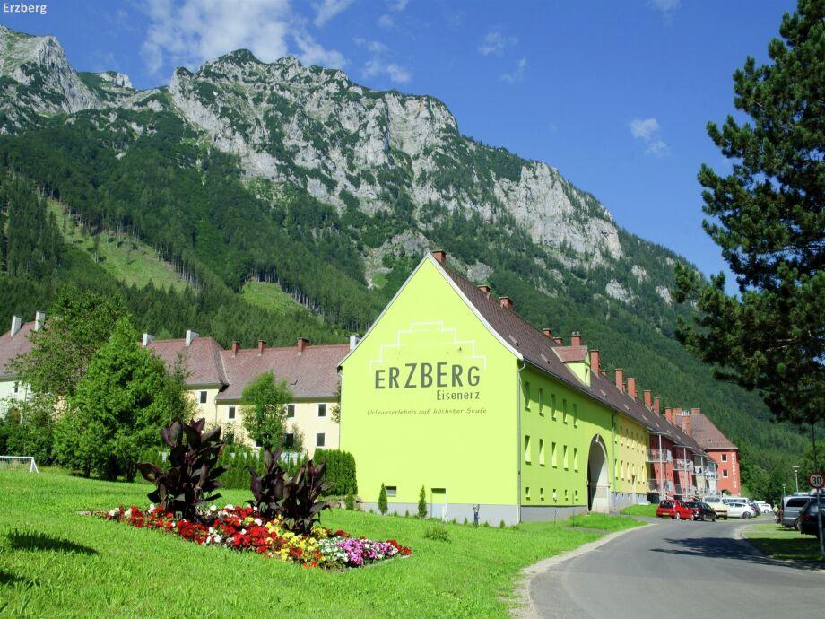 Außenaufnahme Erzberg Appartement E