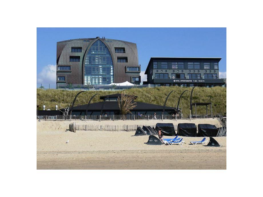 Außenaufnahme Beach Style Bloemendaal - Sand