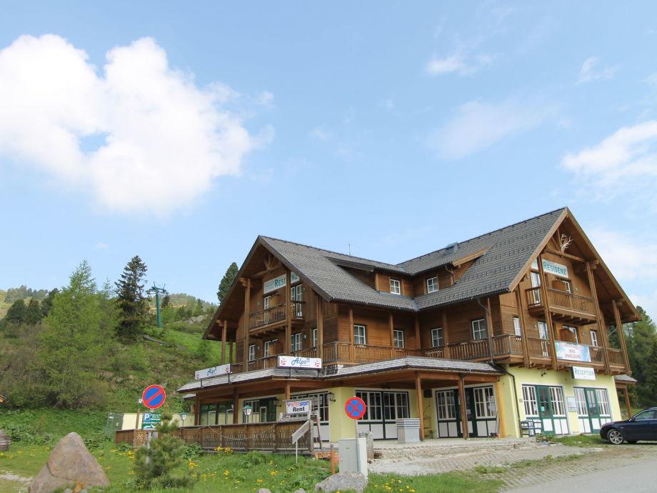 Außenaufnahme Alpenresidenz Turrach