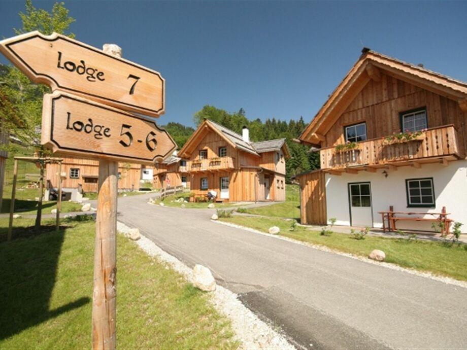 Außenaufnahme Lodge de Luxe