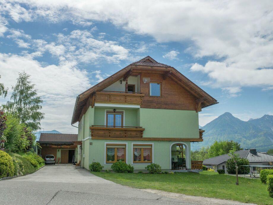 Außenaufnahme Familienhaus Rosental