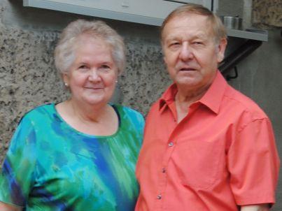 Ihr Gastgeber Udo und Brigitte Zahn