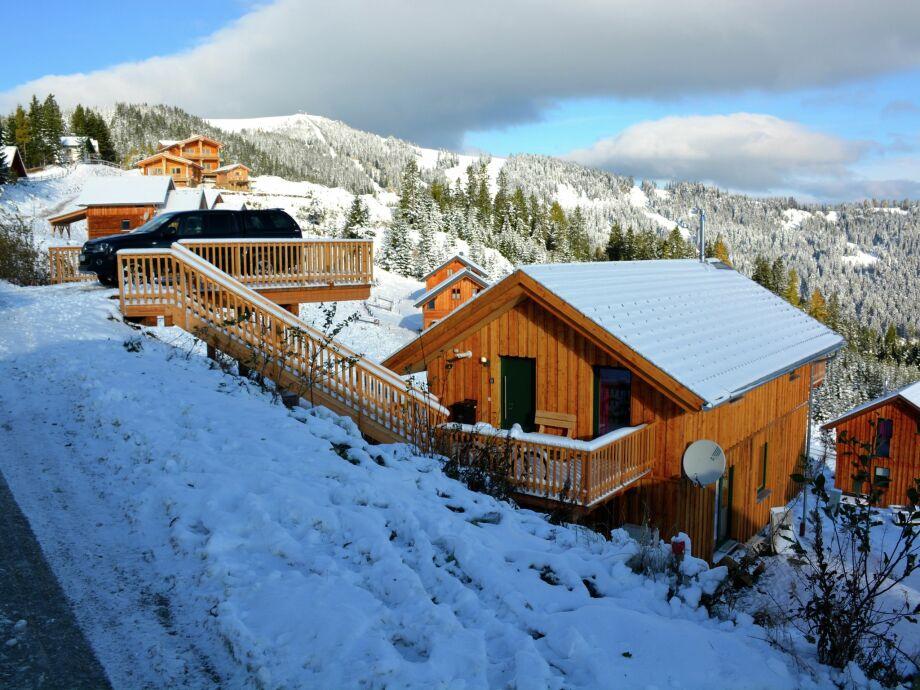 Außenaufnahme Alpenchalet Klippitztörl