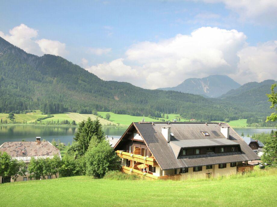 Außenaufnahme Haus am Weissensee