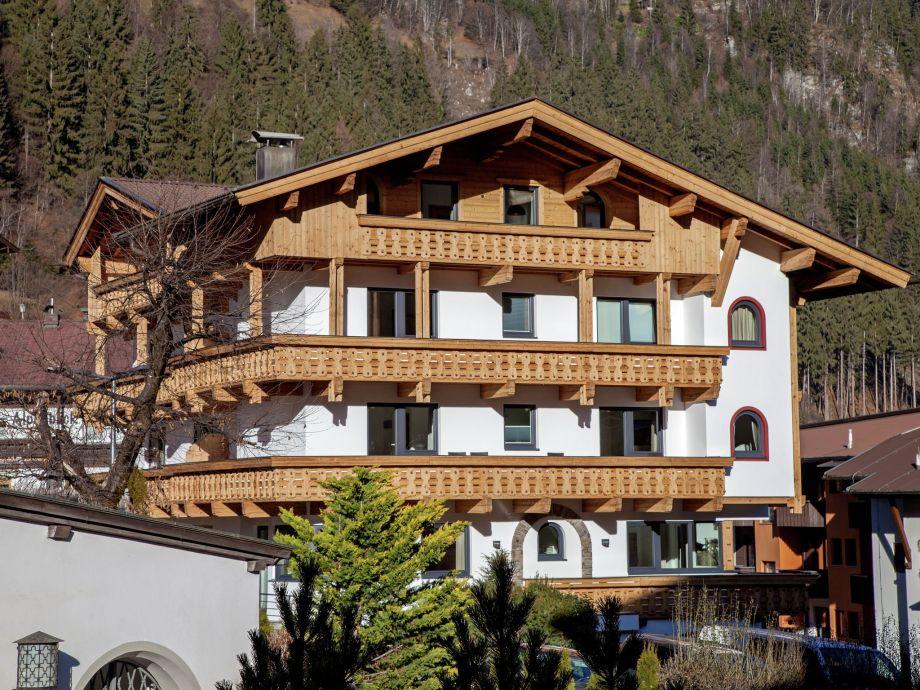 Außenaufnahme Penthouse Appartementhaus Austria