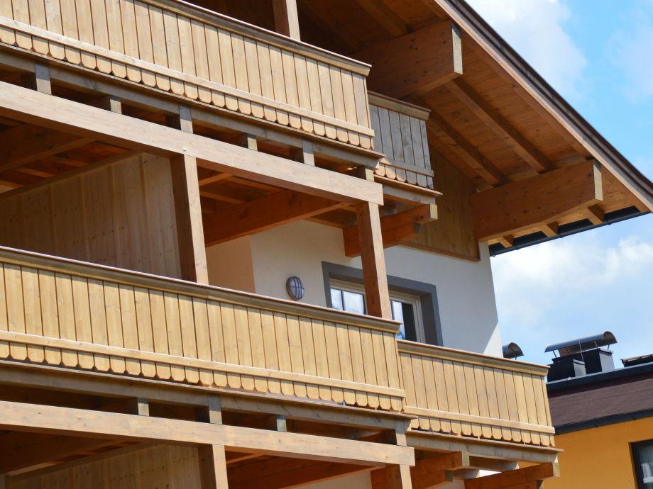 Außenaufnahme Residenz Edelalm Appartement 2